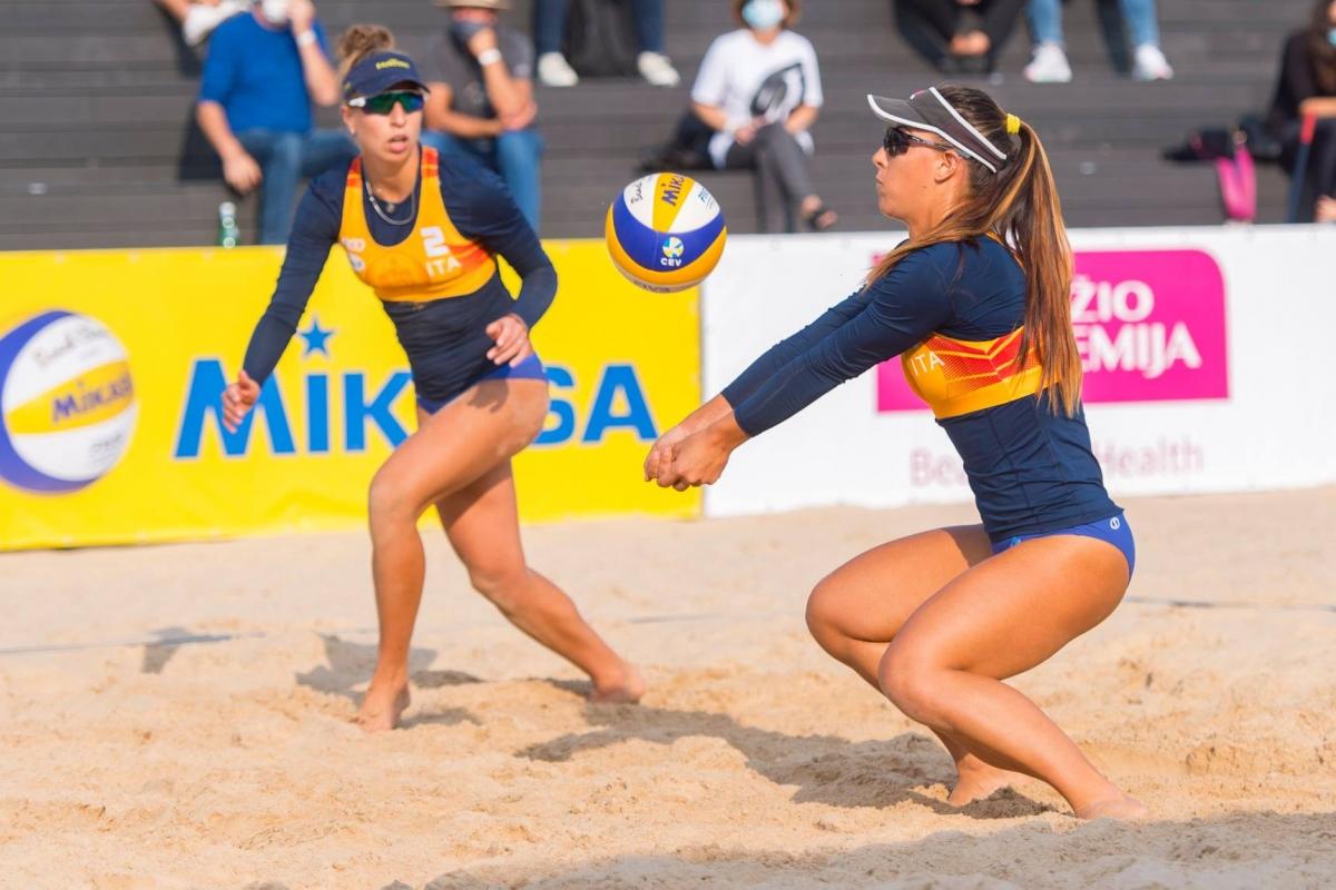 World Tour, a Vilnius successo di Claudia Scampoli e Margherita Bianchin