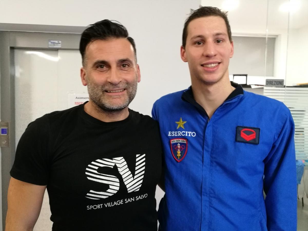 Gianmichele Fidelibus e Nicolangelo Di Fabio