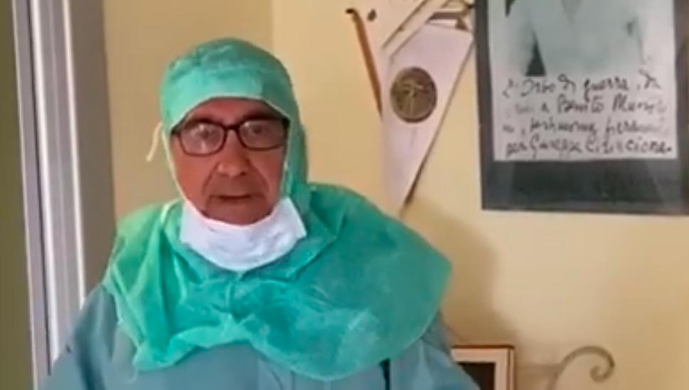 Il professor Leonardo Mastropasqua