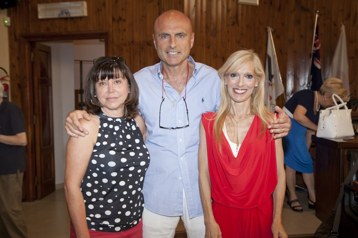 Anna Bontempo, Gaetano Quagliarella e Paola Calvano