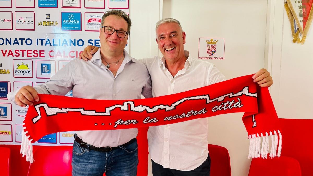 Il co-presidente Scafetta e il patron Bolami